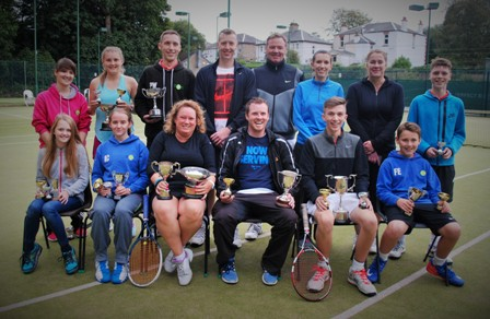 Club championship finalists  (September 2015)