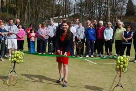 Joe Swinson opening new courts April 2013